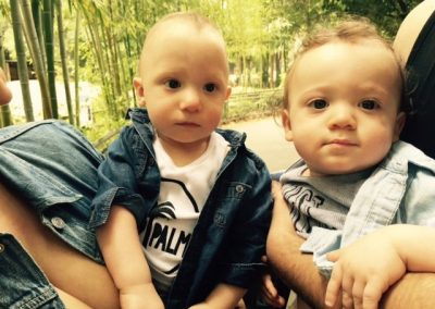 Bijan and Zach: Twins with 22q11.2 deletion syndrome, or DiGeorge syndrome, and Autism