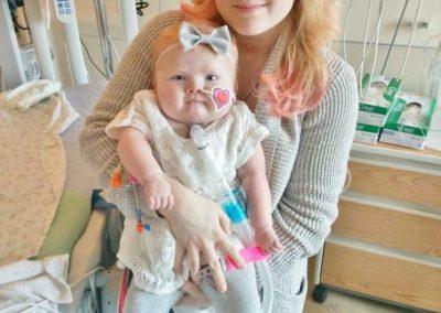 Kierra: 22q11 Deletion syndrome, Tracheomalacia, Pulmonary Atresia