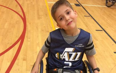 Boy with Spina Bifida is a Joy to His Adoptive Parents