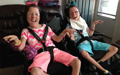 Sibling's Story: Sisters with Quadriplegic Cerebral Palsy