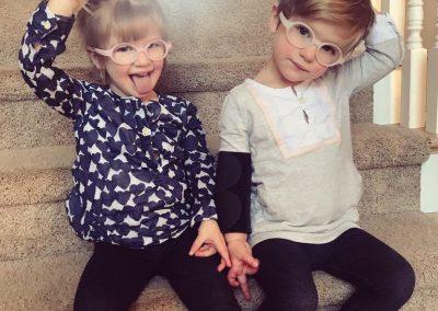 Cora and Trey: Rett syndrome