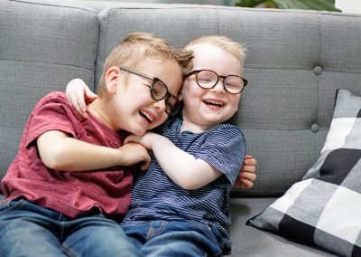 Alie and Tyler: Asperger's syndrome, Anencephaly and Albinism