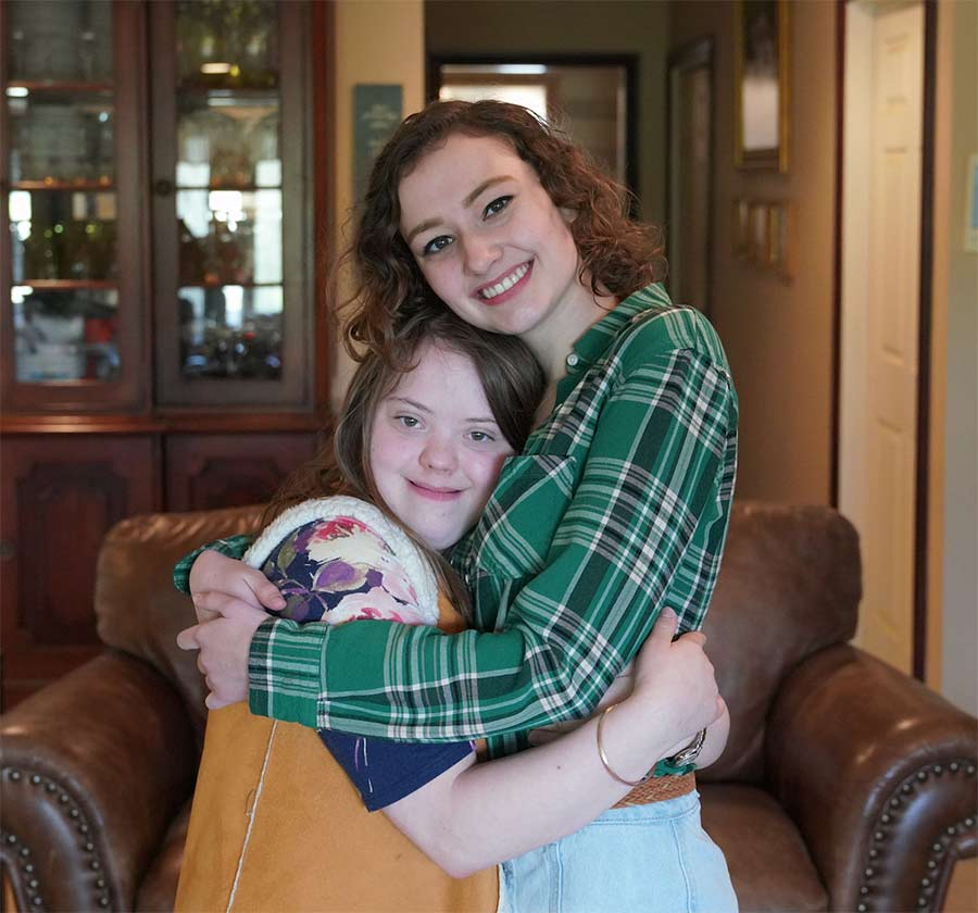 Perspective on Living with a Sister with Down Syndrome