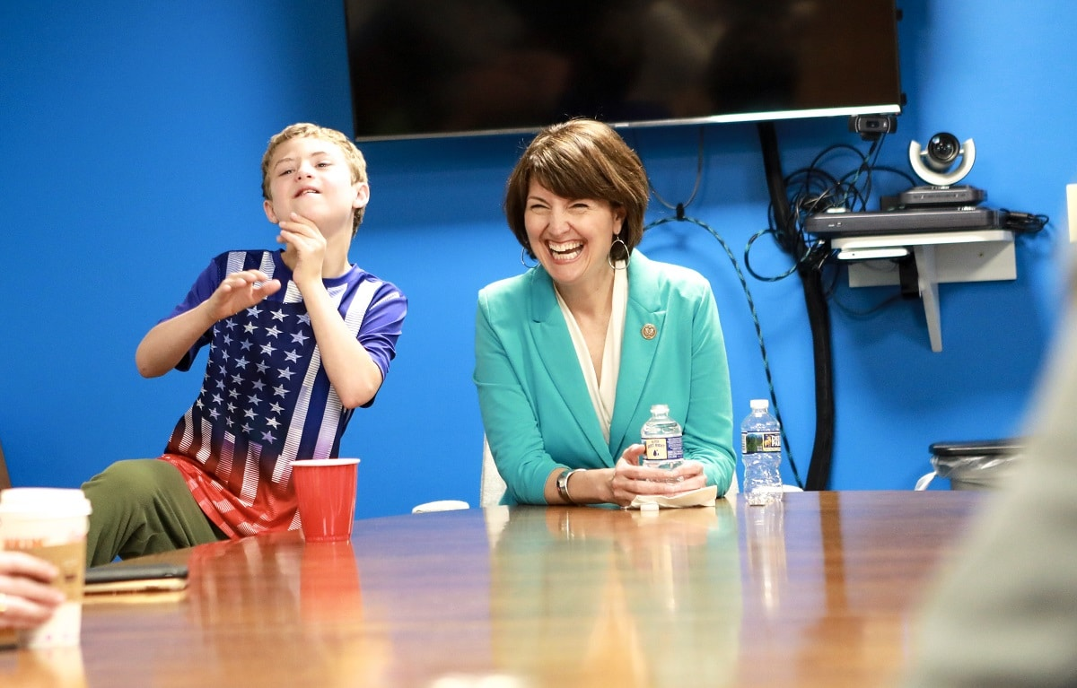 Cathy McMorris Rodgers and Brian Rodgers: Down syndrome
