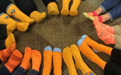 First Annual Orange Socks Day Reaches Tens of Thousands