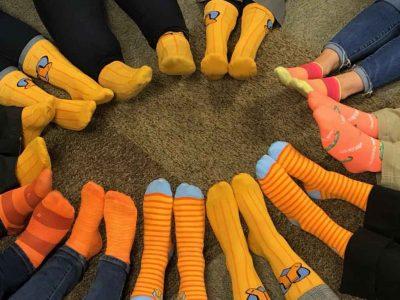 Orange Socks day