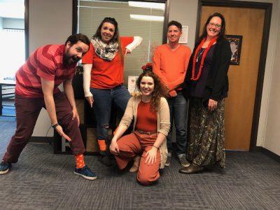 Orange Socks day 2019 celebration