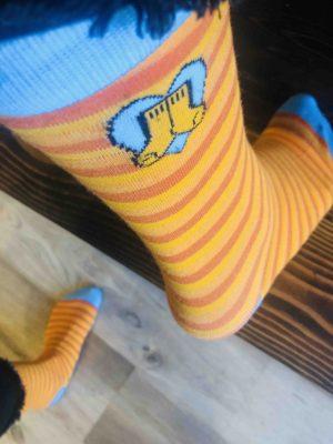 Orange Socks day, Orange Socks Logo
