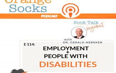 Sock Talk- Employment and People With Disabilities