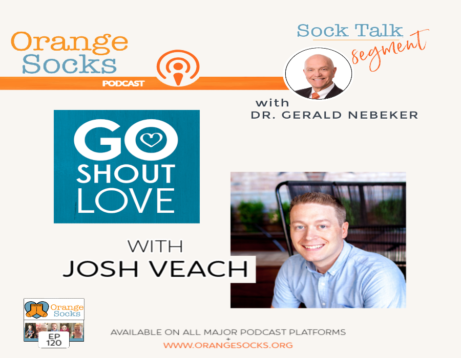 Sock Talk: Go Shout Love